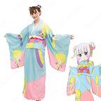 カンナカムイ コスプレ衣装 【小林さんちのメイドラゴン】 cosplay 新年 着物