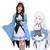 エミリア ラム レム コスプレ衣装 【Re:ゼロから始める異世界生活】 cosplay リゼロ ローソンコラボ メイド服 エミリア