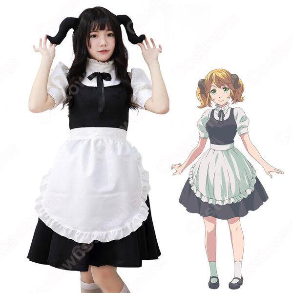 アレッタ コスプレ衣装 【異世界食堂】 cosplay ウェイトレス メイド服元の画像