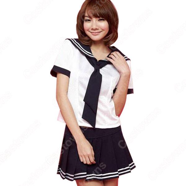 高校制服 コスプレ衣装 文化祭 体育祭 日本韓国高校制服 ユニフォーム セーラー服 COT-A00376元の画像