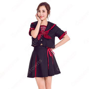 高校制服 コスプレ衣装 文化祭 体育祭 日本韓国高校制服 チアリーダ衣装 ユニフォーム セーラー服 COT-A00352