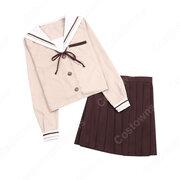 学園制服 コスプレ衣装 文化祭 体育祭 ユニフォーム コスチューム セーラー服 COT-A00404
