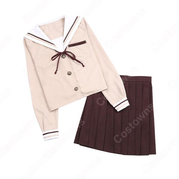 学園制服 コスプレ衣装 文化祭 体育祭 ユニフォーム コスチューム セーラー服 COT-A00404元の画像