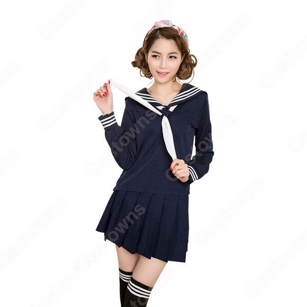 逢坂大河 コスプレ衣装 【とらドラ!】 (あいさかたいが) セーラー服元の画像
