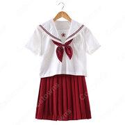 学園制服 コスプレ衣装 文化祭 体育祭 ユニフォーム コスチューム セーラー服 COT-A00398