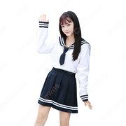 学園制服 コスプレ衣装 文化祭 体育祭 ユニフォーム コスチューム セーラー服 COT-A00406