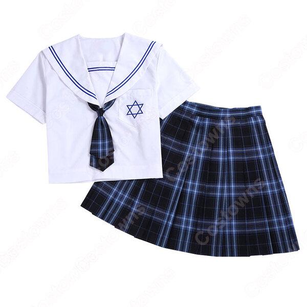 学園制服 コスプレ衣装 文化祭 体育祭 ユニフォーム コスチューム セーラー服 COT-A00405元の画像