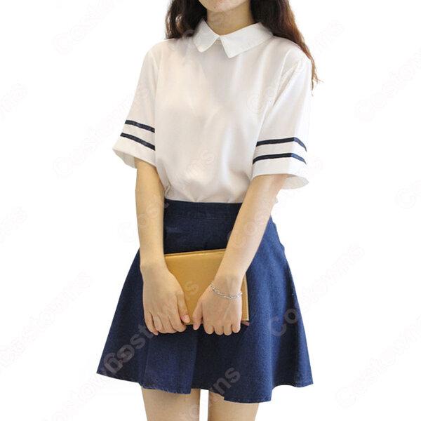 学園制服 コスプレ衣装 文化祭 体育祭 ユニフォーム コスチューム 日本韓国風制服元の画像