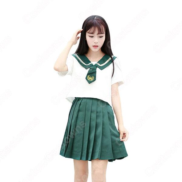 学園制服 コスプレ衣装 文化祭 体育祭 ユニフォーム コスチューム セーラー服 COT-A00400元の画像