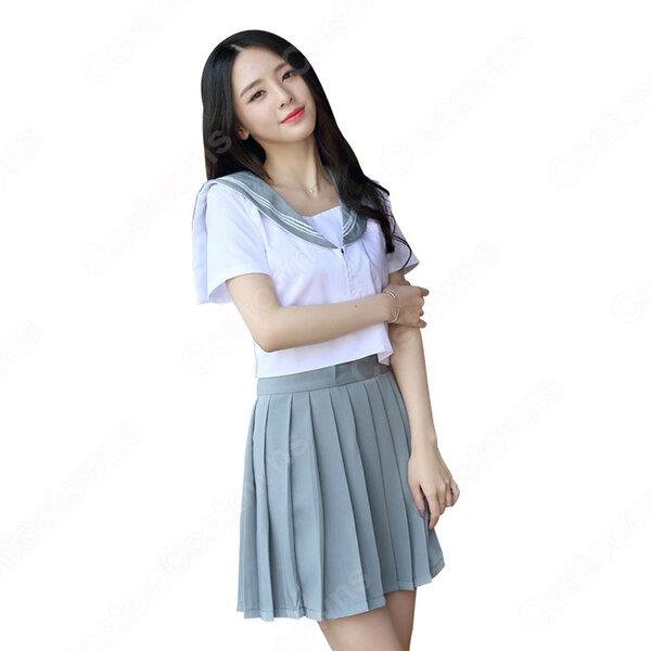 学園制服 コスプレ衣装 文化祭 体育祭 ユニフォーム コスチューム セーラー服 COT-A00411元の画像