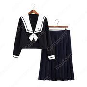 学園制服 コスプレ衣装 文化祭 体育祭 ユニフォーム コスチューム セーラー服 COT-A00410