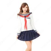 学園制服 コスプレ衣装 文化祭 体育祭 ユニフォーム コスチューム 日本学生制服 セーラー服上下セット