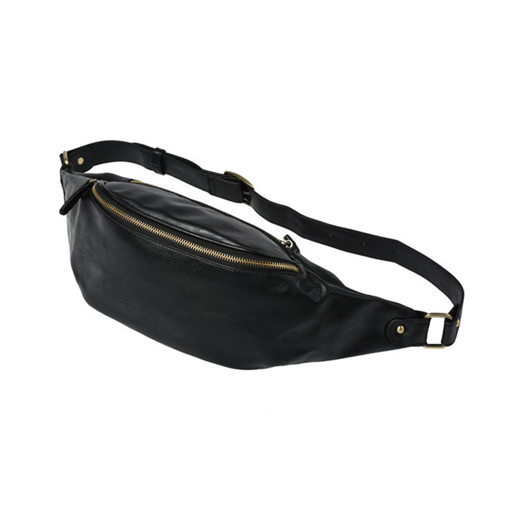 ボディバッグ・ワンショルダーバッグ メンズ ウエストバッグ 斜め掛け 軽量 スポーツバッグ 撥水 レザー バッグ 自転車 -2