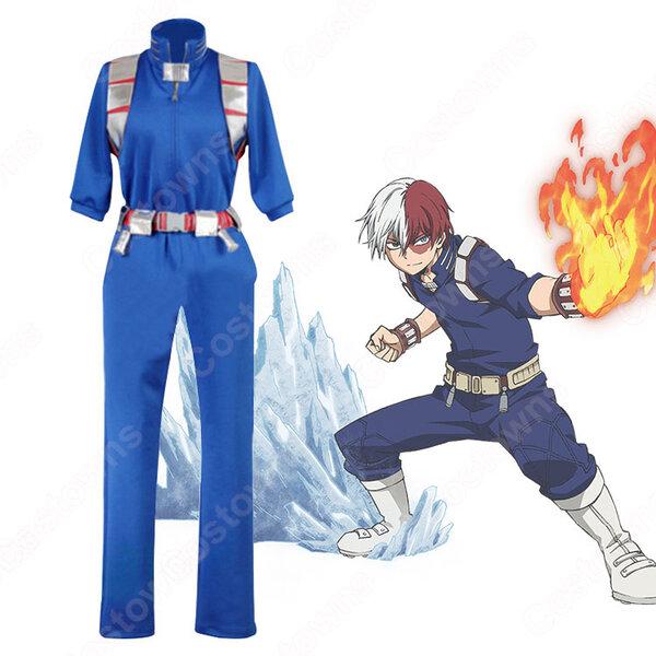 轟焦凍 コスプレ衣装 【僕のヒーローアカデミア】 cosplay (とどろき しょうと) ヒーロースーツ 戦争コスチューム元の画像