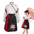漢服 コスプレ衣装 中国伝統衣装 古風 可愛い ハロウィン 学園祭 おしゃれコス服 猫刺繍 合わせえり 日常ミニスカート 白