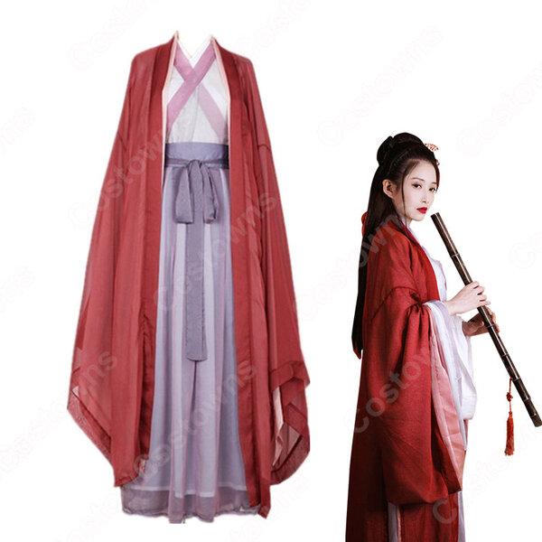 漢服 コスプレ衣装 中国伝統衣装 古風 剣士風 かっこいい 中国時代劇 学園祭 おしゃれコス服元の画像