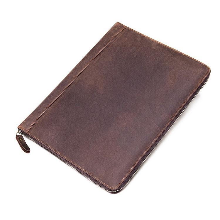 Whatna 牛革 セカンドバッグ メンズ クラッチ バッグ 厚手 本革 A4 13インチipad 15 枚カード 収納可