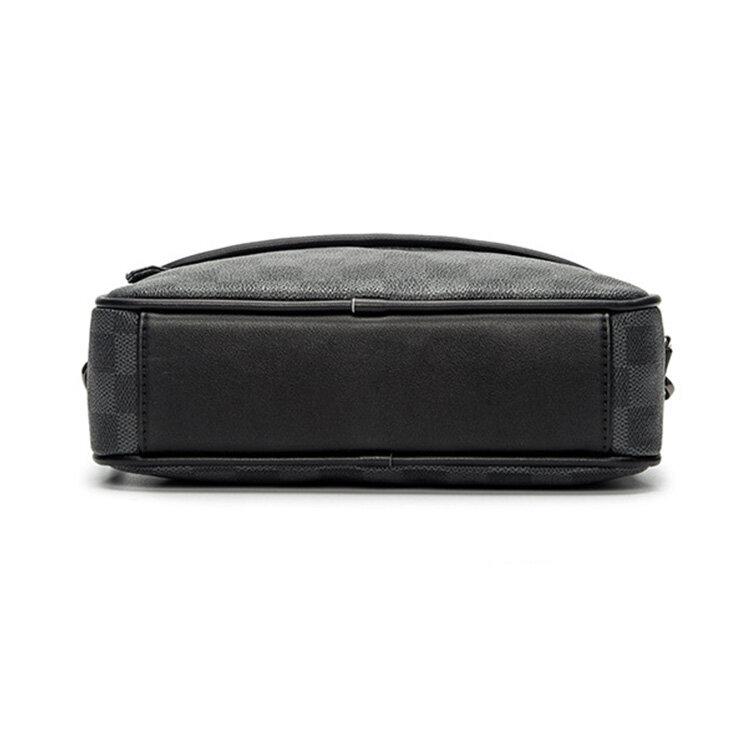 人気 メンズ ショルダー バッグ 販売 本革 男性 用 ショルダー バッグ メッセンジャー バッグ おすすめのミニ 斜 めがけ バッグ 通学 通勤鞄 小振り 軽量 実用 高 機能 肩掛け カバン_4