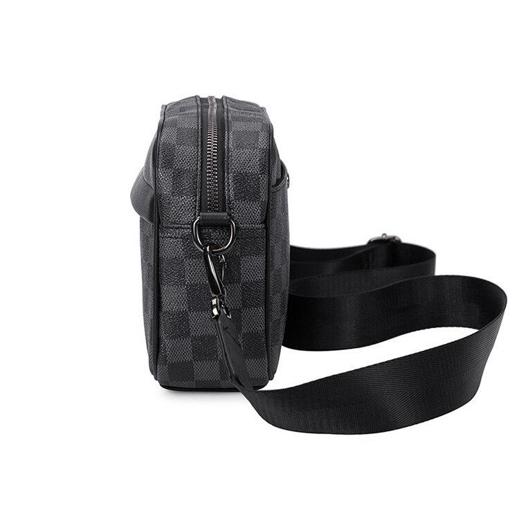 人気 メンズ ショルダー バッグ 販売 本革 男性 用 ショルダー バッグ メッセンジャー バッグ おすすめのミニ 斜 めがけ バッグ 通学 通勤鞄 小振り 軽量 実用 高 機能 肩掛け カバン_2