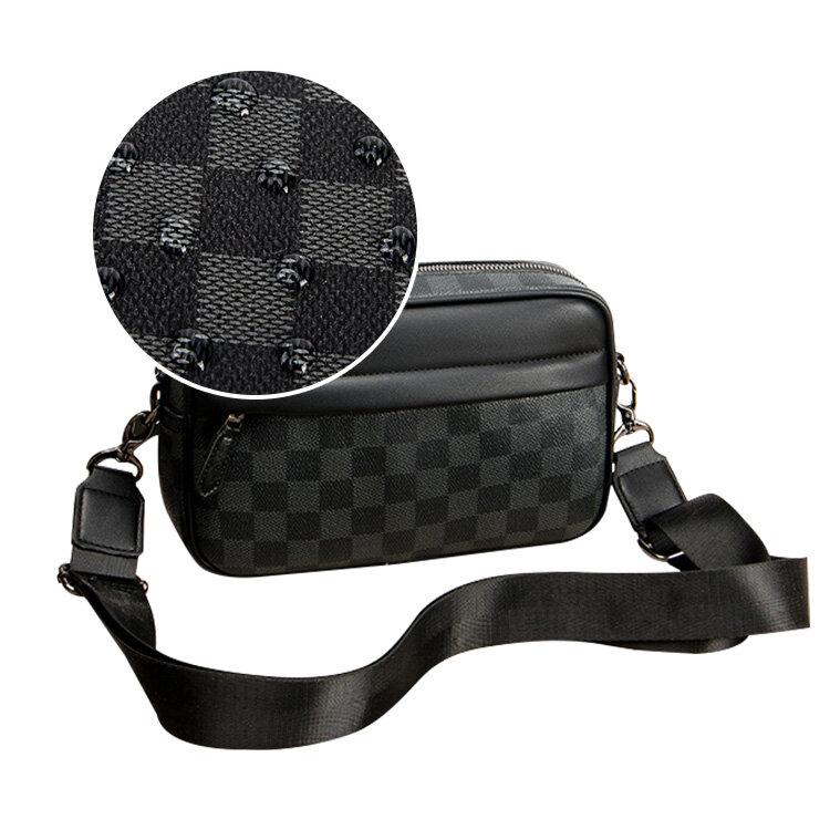 人気 メンズ ショルダー バッグ 販売 本革 男性 用 ショルダー バッグ メッセンジャー バッグ おすすめのミニ 斜 めがけ バッグ 通学 通勤鞄 小振り 軽量 実用 高 機能 肩掛け カバン_7