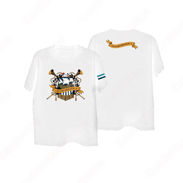 欅坂46/けやき坂46 欅共和国2019 オフィシャルグッズ エンブレム KYZ Tシャツ元の画像