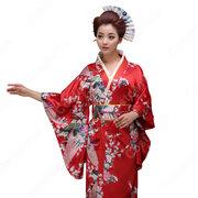 女性浴衣 和服 着物 日本伝統服 舞台衣装 コスプレ衣装 コスチューム 写真撮影 演出服 COT-A00543