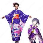 園田海未 絢瀬絵里 コスプレ衣装 ラブライブ! 和服 着物 演出服 コスチューム 日本伝統衣装