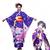 園田海未 絢瀬絵里 コスプレ衣装 ラブライブ! 和服 着物 演出服 コスチューム 日本伝統衣装 紫