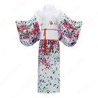 女性浴衣 和服 着物 日本伝統服 舞台衣装 コスプレ衣装 コスチューム 写真撮影 演出服 改良タイプ COT-A00546