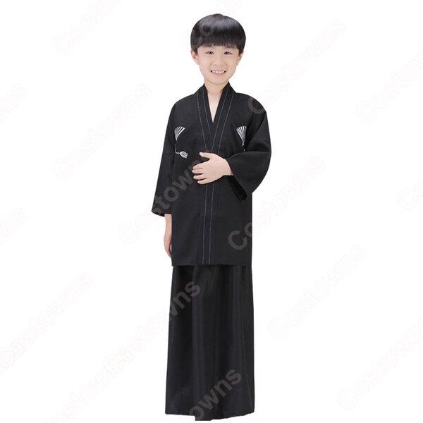 男の子着物 和装 和服 袴 コスプレ衣装 コスチューム 羽織袴 子供 キッズ 写真撮影元の画像