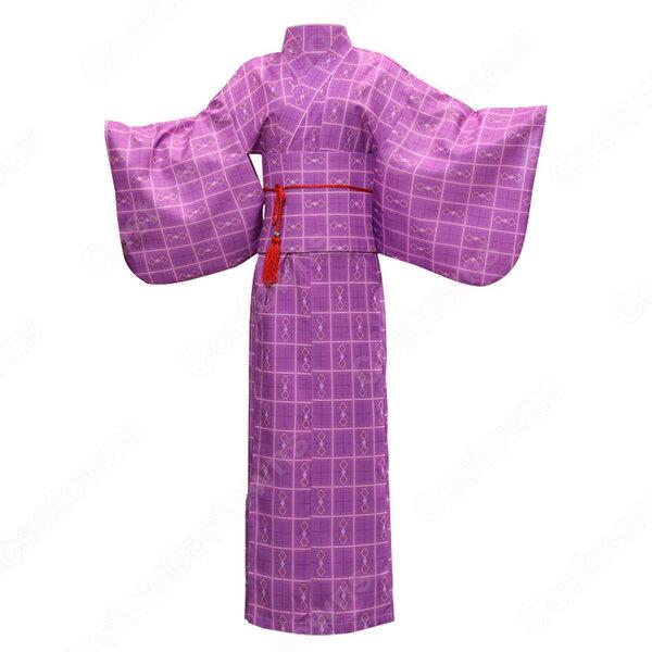 女性浴衣 和服 着物 日本伝統服 舞台衣装 コスプレ衣装 コスチューム 写真撮影 演出服 COT-A00548元の画像