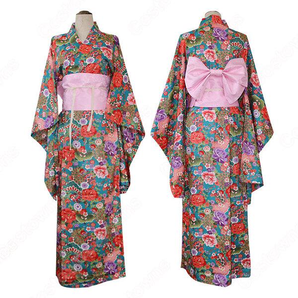 COSTOWNS販売する着物のコスプレ衣装は厳選な素材を使用。プロのデザイナーたちが一つ一つ手作業で制作し、丁寧に仕上げました。コスプレイヤーも納得の質感やボリューム感と細部までこだわった高品質のコスプレ衣装を販売しております。元の画像