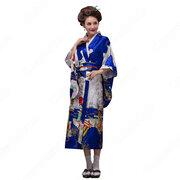 女性浴衣 和服 着物 日本伝統服 舞台衣装 コスプレ衣装 コスチューム 写真撮影 演出服 多色選択