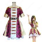 SNH48 打歌服 MV演出服 コスプレ衣装 アイドル衣装 赤チェックワンピース