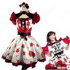 AKB48 「11月のアンクレット」 LIVE 渡辺麻友 演出服 ライブ衣装 コスプレ衣装 アイドル衣装 ステージ衣装 バラ柄衣装