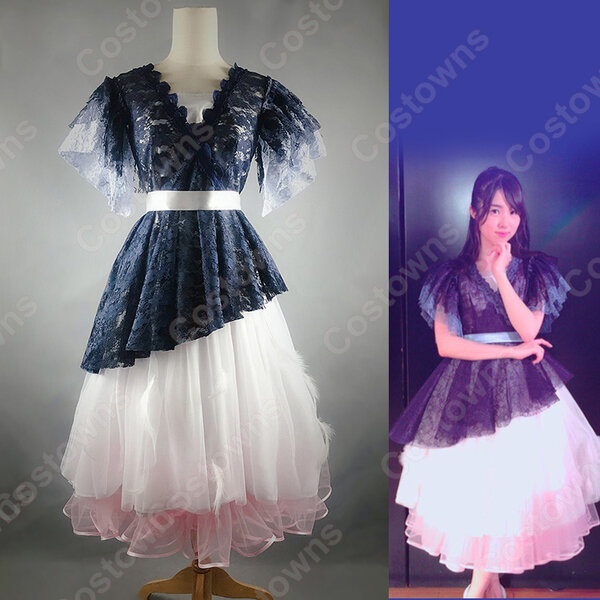 AKB48 Team SH 1ST Stage 「サムネイル」2期生公演 演出服 ライブ衣装 コスプレ衣装 アイドル衣装 ステージ衣装 オーダメイド可元の画像