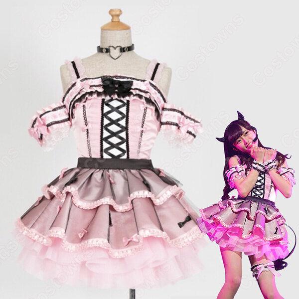 NGT48 中井りか 「#わる姫(わるきー)」 演出服 ライブ衣装 コスプレ衣装 アイドル衣装 ステージ衣装 オーダメイド可元の画像