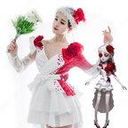 アイデンティティV 調香師 ウィラ・ナイエル コスプレ衣装 【IdentityV 第五人格】 cosplay スカーレットの新婦 衣装 スキン