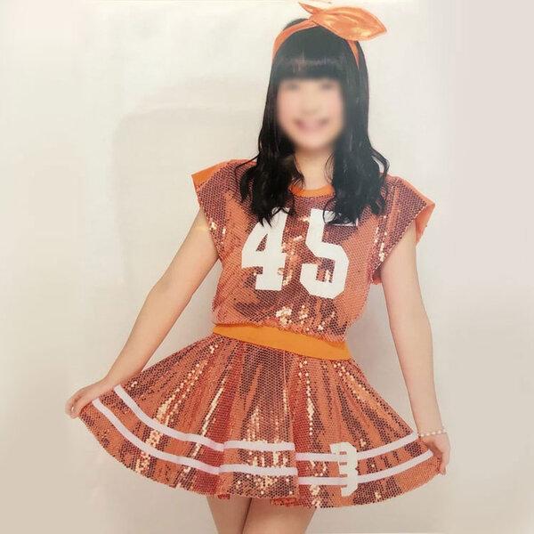 AKB48 「AKB48グループ 東京ドームコンサート~するなよ?するなよ?絶対卒業発表するなよ?~」 「アリガトウ」 演出服 ライブ衣装 コスプレ衣装 アイドル衣装 オーダメイド可元の画像