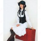 SKE48 松井玲奈 「枯葉のステーション」 演出服 ライブ衣装 コスプレ衣装 アイドル衣装 ワンピース