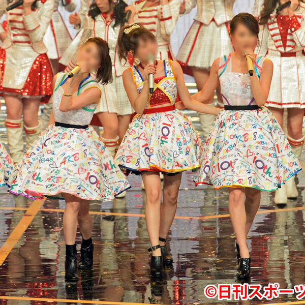 AKB48 「第66回NHK紅白歌合戦」「AKB48/10周年メドレー」 演出服 ライブ衣装 コスプレ衣装 アイドル衣装 オーダメイド可元の画像