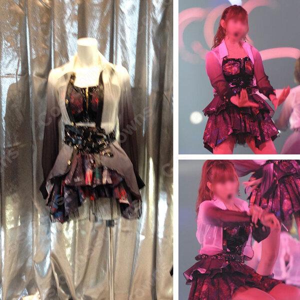 AKB48 「AKB48 2013真夏のドームツアー ~まだまだ、やらなきゃいけないことがある~」 「UZA」 演出服 ライブ衣装 コスプレ衣装 アイドル衣装 オーダメイド可元の画像