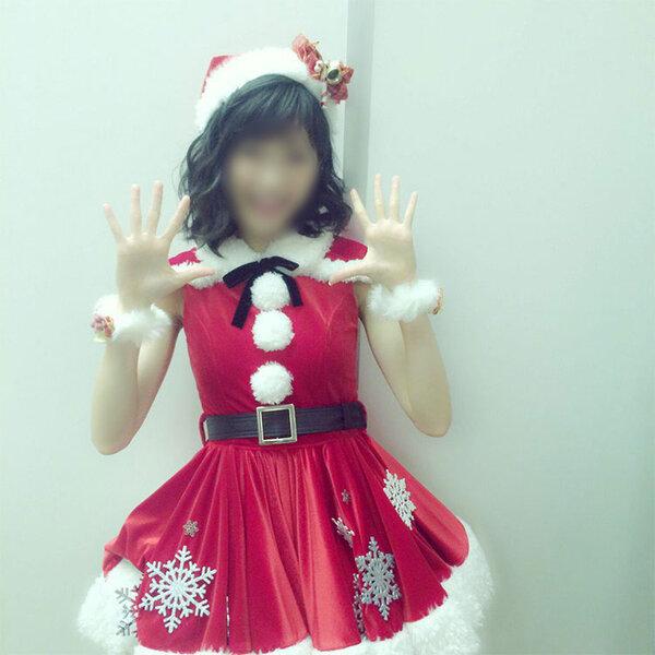 AKB48 2015FNS歌謡祭 飛天 「赤鼻のトナカイ」 クリスマス サンタ衣装 コスプレ衣装 アイドル衣装 オーダメイド可元の画像