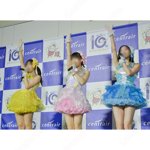 SKE48 「ウィンブルドンへ連れて行って」 演出服 ライブ衣装 コスプレ衣装 アイドル衣装 MV衣装 オーダメイド可元の画像