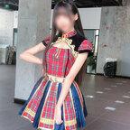 AKB48 Team SH 「ChinaJoy2020」 演出服 ライブ衣装 コスプレ衣装 アイドル衣装 ステージ衣装 チェック柄