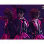 AKB48 M10 クロス 【AKB48グループ臨時総会~白黒つけようじゃないか!~】 演出服 ライブ衣装 コスプレ衣装 アイドル衣装 制服