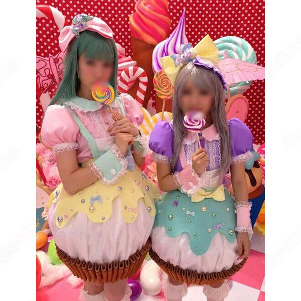 AKB48 「Sugar Rush」 シュガー・ラッシュ 演出服 ライブ衣装 コスプレ衣装 アイドル衣装 MV衣装 オーダメイド可元の画像