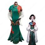 芸者 (美智子)チャイナドレス コスプレ衣装 『IdentityⅤ(第五人格/アイデンティティ5)』の登場人物の仮装 コスチューム