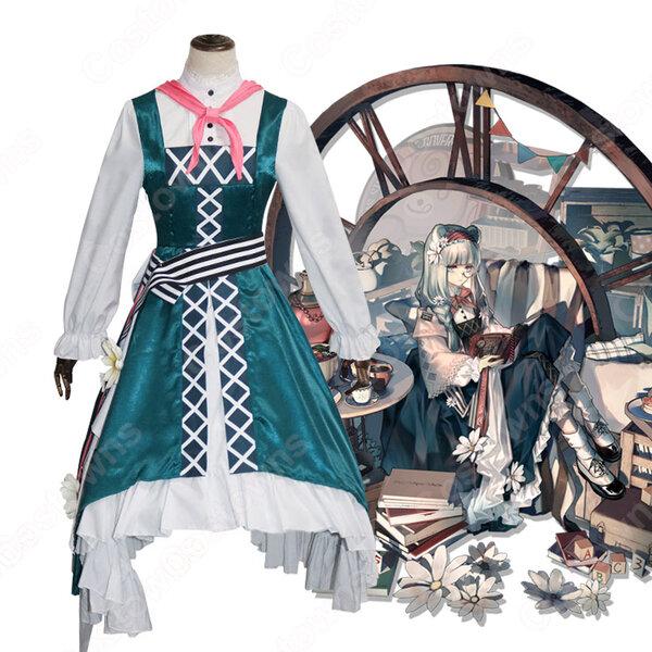 イースチナ(いーすちな、真理) 書の味わいのスキン コスプレ衣装 『アークナイツ(アクナイ、明日方舟、Arknights)』の登場人物の仮装 コスチューム元の画像