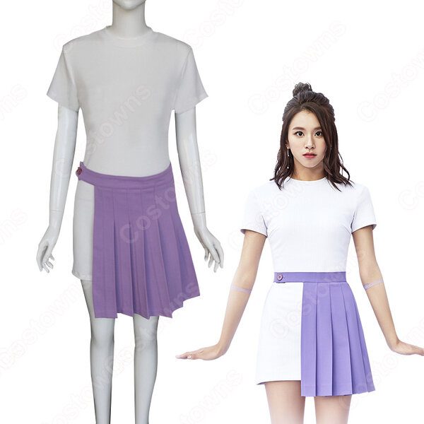 TWICE(トゥワイス) チェヨン(ソン・チェヨン) 衣装 通販 「TT」 MVダンス服 ステージ服 アイドル制服元の画像